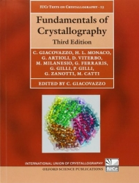 Fundamentals of Crystalography (C. Giacovazzo)